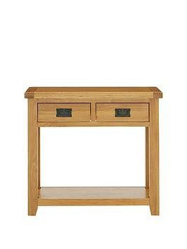 Save £50 at Very on Luxe Collection - Oakland 100% Solid Wood Console Table