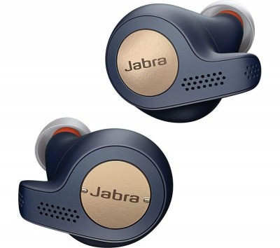 Save £20 at Currys on JABRA Elite 65t Wireless Bluetooth Headphones - Copper Blue, Blue