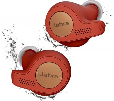 Save £20 at Currys on JABRA Elite 65t Wireless Bluetooth Headphones - Red Copper, Red
