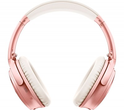 Save £30 at Currys on QuietComfort QC35 II Wireless Bluetooth Noise-Cancelling Headphones - Rose Gold, Gold