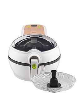 Save £30 at Very on Tefal Actifry Original Plus Air Fryer With Snacking Tray Gh847040 - White / 1.2Kg