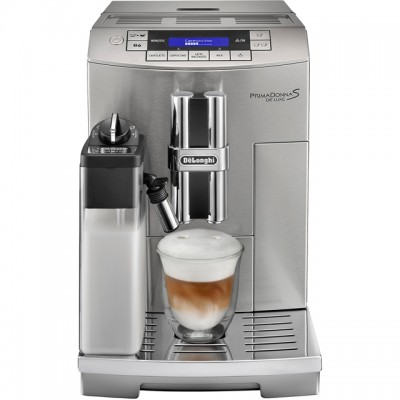 Save £200 at AO on De'Longhi PrimaDonna S ECAM28.465.M Bean to Cup Coffee Machine - Silver