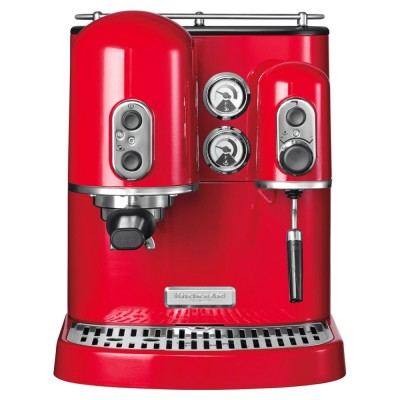 Save £70 at Appliance City on KitchenAid 5KES2102BER Freestanding Artisan Espresso Coffee Machine - EMPIRE RED