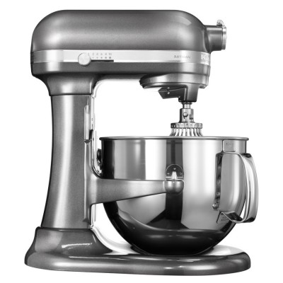 Save £100 at Appliance City on KitchenAid 5KSM7580XBMS Artisan Stand Mixer 6.9 Litre - MEDALLION SILVER
