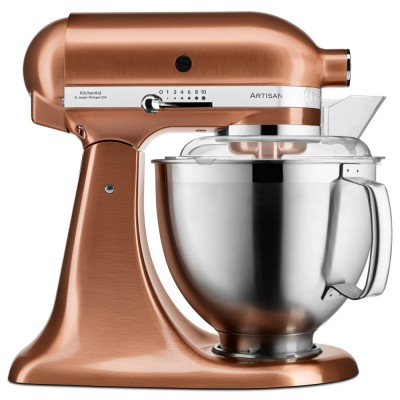 Save £130 at Appliance City on KitchenAid 5KSM185PSBCP 185 Artisan Stand Mixer 4.8 Litre - COPPER