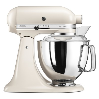 Save £50 at Appliance City on KitchenAid 5KSM175PSBLT 175 Artisan Stand Mixer 4.8 Litre - CAFE LATTE
