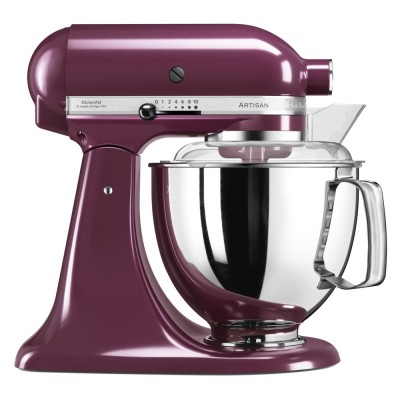 Save £50 at Appliance City on KitchenAid 5KSM175PSBBY 175 Artisan Stand Mixer 4.8 Litre - BOYSENBERRY