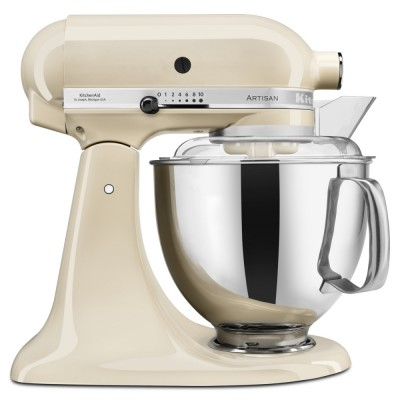 Save £50 at Appliance City on KitchenAid 5KSM175PSBAC 175 Artisan Stand Mixer 4.8 Litre - ALMOND CREAM