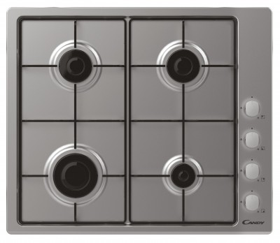 Save £31 at Argos on Candy CHW6LX Gas Hob - Stainless Steel