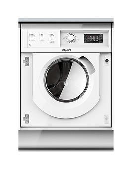 Save £40 at Very on Hotpoint Biwmhg71484 7Kg Load, 1400 Spin Integrated Washing Machine - White - Washing Machine Only
