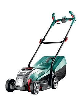 Save £35 at Very on Bosch Rotak 32 Lithium-Ion Ergoflex Cordless Rotary Lawnmower