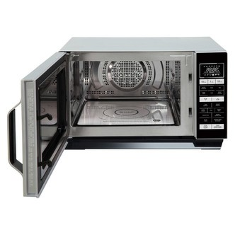 Save £15 at Sonic Direct on Sharp R860SLM Combination Microwave Oven in Silver 25L 900W