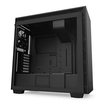 Save £16 at Scan on NZXT Black H710 Mid Tower Windowed PC Gaming Case