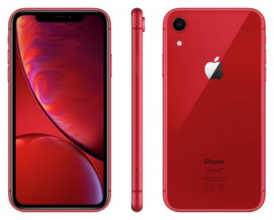 Save £120 at Argos on Sim Free iPhone XR 256GB Product Red Mobile Phone