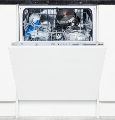 Save £80 at Argos on Candy CDI1LS38S Full Size Integrated Dishwasher - White