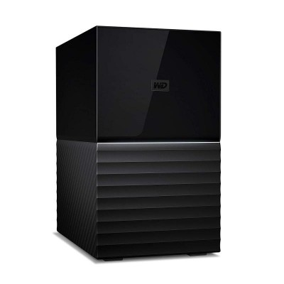 Save £115 at Ebuyer on WD My Book Duo WDBFBE0200JBK - Hard drive array - 20 TB - 2 bays - HDD 10 TB x 2 - USB 3.1 (external)