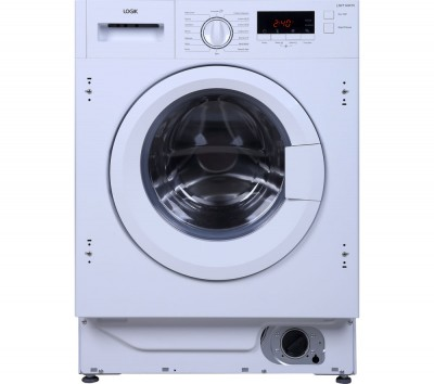 Save £31 at Currys on LOGIK LIW714W15 Integrated Washing Machine - White, White