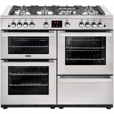 Save £280 at AO on Belling Cookcentre110G Prof 110cm Gas Range Cooker - Stainless Steel - A/A Rated