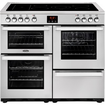 Save £200 at AO on Belling Cookcentre100E Prof 100cm Electric Range Cooker with Ceramic Hob - Stainless Steel - A/A Rated