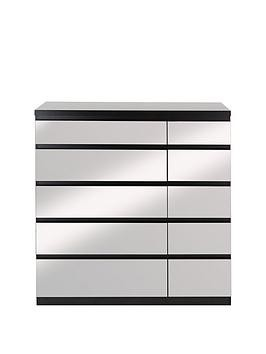 Save £30 at Very on Prague Mirror 5 + 5 Chest Of Drawers