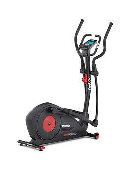Save £180 at Very on Reebok Gx50 One Series Cross Trainer - Black With Red Trim