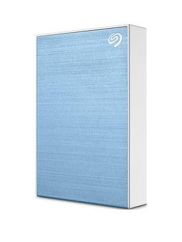 Save £21 at Very on Seagate Seagate 5Tb Backup Plus Slim Portable Hard Drive - Light Blue