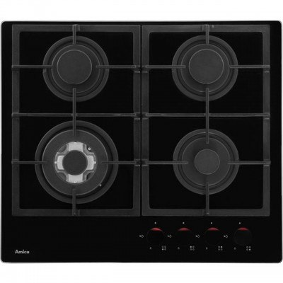 Save £20 at AO on Amica PHCZ6512 60cm Gas Hob - Black