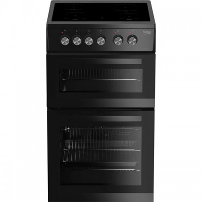 Save £49 at AO on Beko KDVC563AK 50cm Electric Cooker with Ceramic Hob - Black - A/A Rated