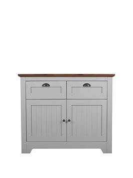 Save £30 at Very on Devon Compact Sideboard - Grey/Walnut Effect