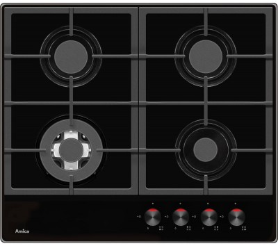 Save £20 at Currys on AMICA PHCZ6512 Gas Hob - Black, Black