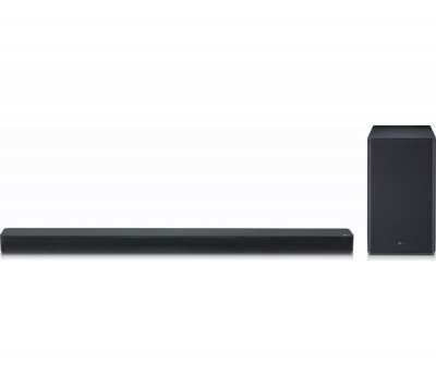Save £70 at Currys on LG SK8 2.1 Wireless Soundbar with Dolby Atmos, Gold