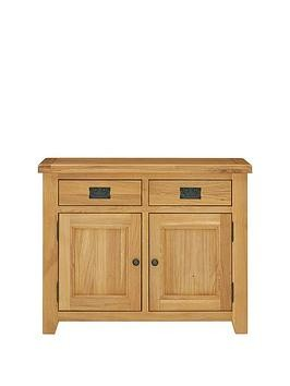 Save £80 at Very on Luxe Collection - Oakland Ready Assembled 100% Solid Wood Compact Sideboard