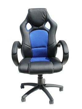 Save £50 at Very on Alphason Jensen Office Chair - Black/Blue