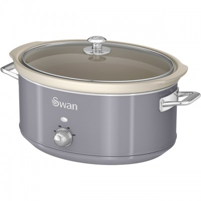 Save £10 at AO on Swan Retro SF17031GRN 6.5 Litre Slow Cooker - Grey