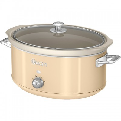 Save £10 at AO on Swan Retro SF17031CN 6.5 Litre Slow Cooker - Cream