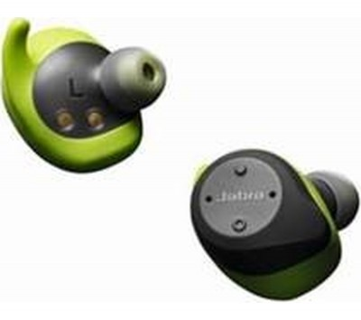 Save £50 at Currys on JABRA Elite Sport Wireless Bluetooth Headphones - Grey & Green, Grey