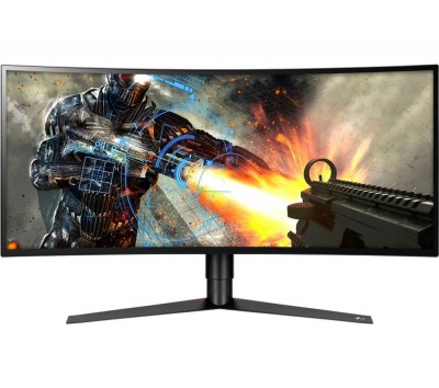 "Save £100 at Currys on LG 34GK950F Quad HD 34"" Curved Nano IPS LCD Gaming Monitor - Black, Black"
