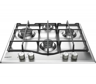 Save £18 at Currys on HOTPOINT PCN 641 IX/H Gas Hob - Stainless Steel, Stainless Steel