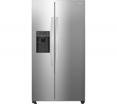 Save £80 at Currys on KENWOOD American-Style Fridge Freezer Stainless Steel KSBSDIX16, Silver