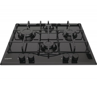 Save £16 at Currys on HOTPOINT PCN642H Gas Hob - Black, Black