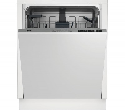 Save £40 at Currys on BEKO DIN26X22 Full-size Integrated Dishwasher, Red