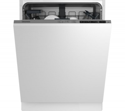 Save £61 at Currys on GRUNDIG GNV22620 Full-size Integrated Dishwasher, Red
