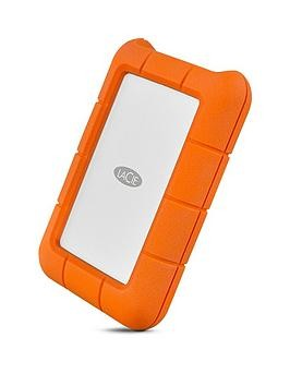 Save £30 at Very on Lacie Rugged Usb-C 500Gb Ssd Sthr500800 Portable Hard Drive