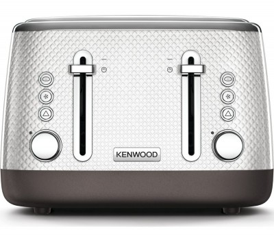 Save £30 at Currys on Mesmerine TFM810WH 4-Slice Toaster - White, White