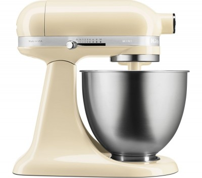 Save £50 at Currys on Artisan Mini 5KSM3311XBAC Stand Mixer - Almond Cream, Cream