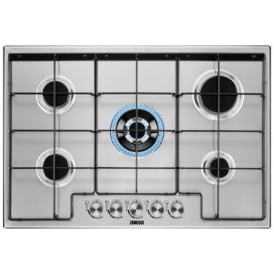 Save £36 at Appliance City on Zanussi ZGH75524XX 75cm 5 Burner Gas Hob - STAINLESS STEEL