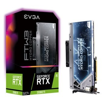 Save £150 at Scan on EVGA NVIDIA GeForce RTX 2080 Ti 11GB FTW3 ULTRA HYDRO COPPER GAMING Tu