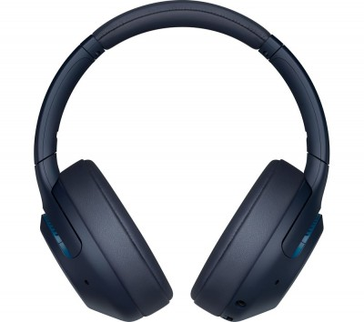 Save £18 at Currys on SONY EXTRA BASS WH-XB900N Wireless Bluetooth Noise-Cancelling Headphones - Blue, Blue