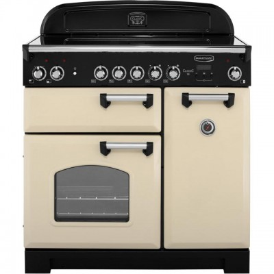 Save £619 at AO on Rangemaster Classic CLA90ECCR/C 90cm Electric Range Cooker with Ceramic Hob - Cream / Chrome - A/A Rated