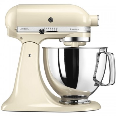 Save £84 at AO on KitchenAid Artisan 5KSM175PSBAC Stand Mixer with 4.8 Litre Bowl - Almond Cream